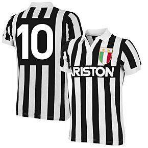 Copa '84 Juventus Home RetroShirt + No 10