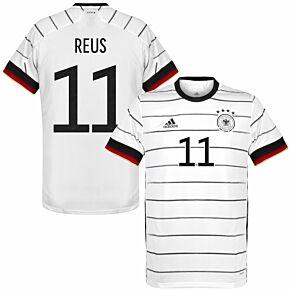 20-21 Germany Home Shirt + Reus 11