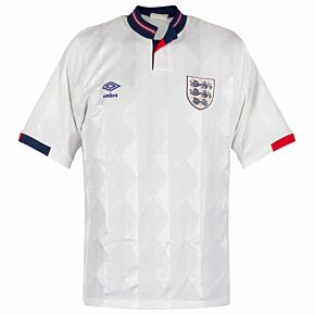 Umbro England 1987-1990 Home Shirt - USED Condition (Great) - Size L
