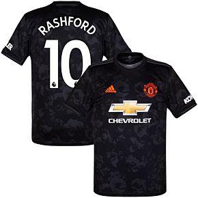 adidas Man Utd 3rd Rashford 10 Jersey 2019-2020 (Official Premier League Printing)