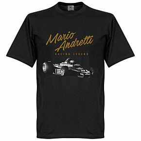 Mario Andretti Tee - Black