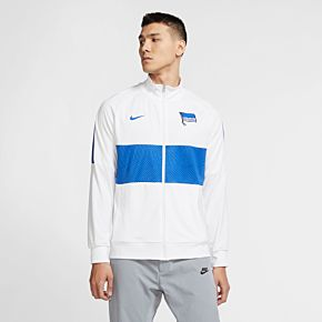 20-21 Hertha Berlin I96 Anthem Track Jacket - White