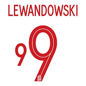 Lewandowski 9 (Official Printing)