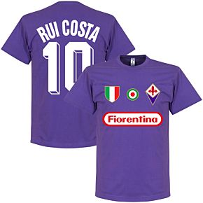 Fiorentina Rui Costa 10 Team Tee - Purple
