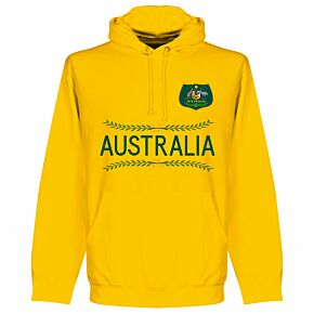 Australia Team KIDS Hoodie - Yellow