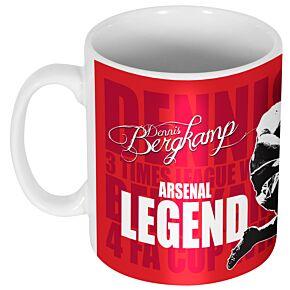 Dennis Bergkamp Legend Mug