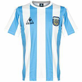 1986 Argentina Home Retro Shirt