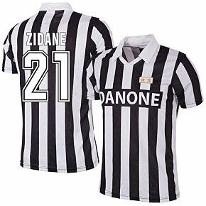 92-93 Juventus Home RetroShirt + Zidane 21