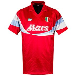 Ennerre SSC Napoli 1990-1991 Away Shirt - USED Condition (Great) - Size Large