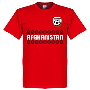 Afghanistan Team Tee - Red