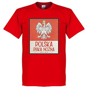 Poland Centenary Tee - Red