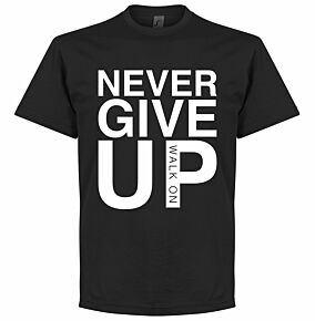 Never Give Up Liverpool KIDS Tee- Black