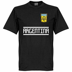 Argentina Team Tee - Black