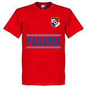 Panama Team Tee - Red