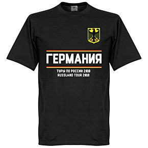 Germany Russia Tour Tee - Black