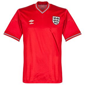 Umbro England 1984-1985 Away Shirt S/S - Used Condition (Great)