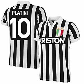 Copa '84 Juventus Home Retro Shirt + Platini 10