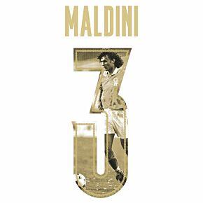 Maldini 3 (Gold Rennaisance Gallery Style)