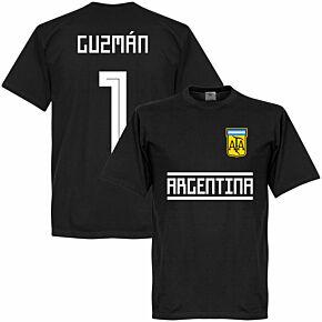 Argentina Guzman 1 Team Tee - Black