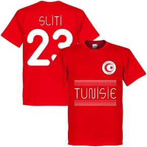 Tunisia Sliti 23 Team Tee - Red
