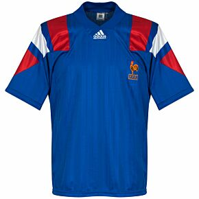 adidas France 1992-1994 Home Shirt - USED Condition (Great) - Size M