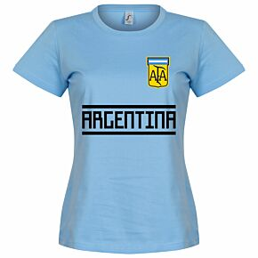 Argentina Team Womens Tee - Sky
