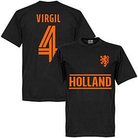 Holland Virgil Team T-Shirt - Black