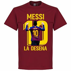 Messi La Desena Tee - Chilli Red
