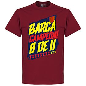 Barcelona Campion 8 de 11 Tee - Chilli Red