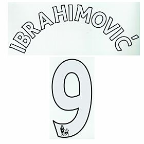 Ibrahimovic 9 - Manchester United Home EPL