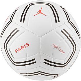 Nike PSG Jordan Strike Football - White (Size 5) 2019-2020
