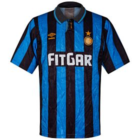 Umbro Inter Milan 1991-1992 Home Jersey - USED Condition (Great) - Size XL