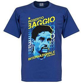 Baggio Inter Portrait Tee - Blue