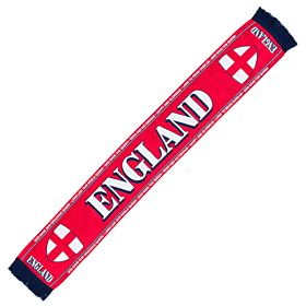 England St Georges Cross Scarf - Red