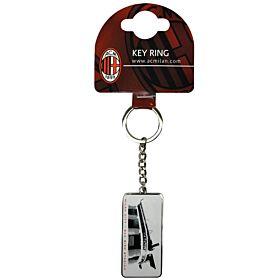 AC Milan Street Sign Keyring