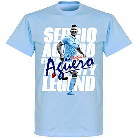 Sergio Aguero Legend Tee - Sky