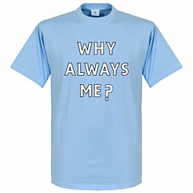 Why Always Me? Balotelli Kids Tee - Sky