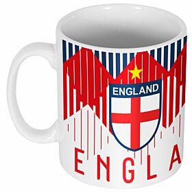 England 2018 Pattern Mug