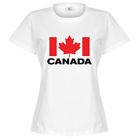 Canada Team Womens Tee - White