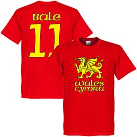 Welsh Dragon Bale Tee - Red