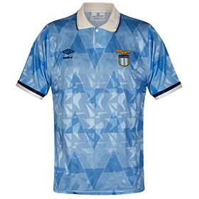 Umbro SS Lazio 1989-1991 Home Jersey - USED Condition (Good) - Size Large