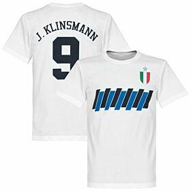 Inter Klinsmann Graphic Tee - White