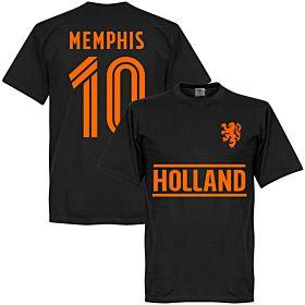Holland Memphis Team T-Shirt - Black
