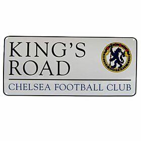 Chelsea Kings Road Metal Street Sign (40cm x 18cm)