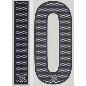 04-05 Inter Milan Away Loose Numbers - Black