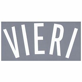 Vieri (Fan Style - Name Only) 02-03 Juventus 3rd Fan Style Name Transfer
