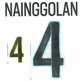 Nainggolan 4 - Belgium Away Official Name & Number2016 / 2017