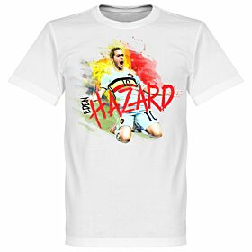 Hazard Motion Tee - White