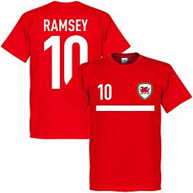 Wales Ramsey 10 Banner Tee - Red