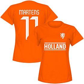 Holland Team Womens Martens 11 Tee - Orange